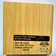 Естественный Цвет Вертикальный Твердый Bamboo Настил