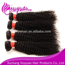 Hot hair product short hair brazilian curly weave remy human hair extension