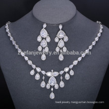 2018 pakistani bridal silver jewelry set 925 big necklace