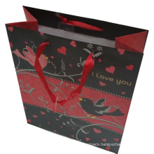 Customized Printing Paper Color Gift Shopping Bag (SW393)