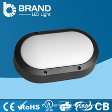 Aluminium IP65 Outdoor Oval Wall Pack LED Bulkhead Lichter Garten LED Licht Bulkhead