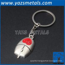 2016 new produce zinc alloy custom key ring