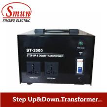 5к понижающий трансформатор 230В-110В, шаг 110-230V Мощность трансформатора
