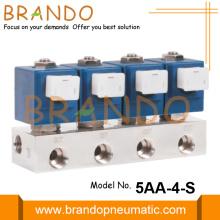 Manifold Stainless Steel Solenoid Valve 1/4'' 3/8'' 1/2''