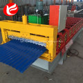 Corrugated conrete roll stock sheet metal iron roof tile machine