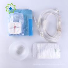 Kit de procedimento descartável com bandagem de gaze