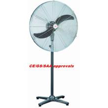 65 centímetros Industrial Stand ventilador elétrico com CE / SAA