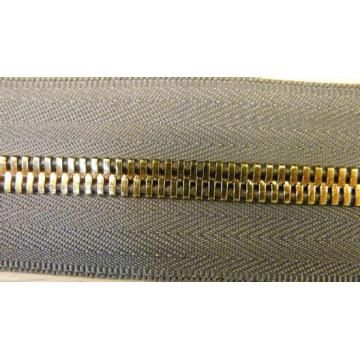 Long Chain Metal Zipper for Garments 7041