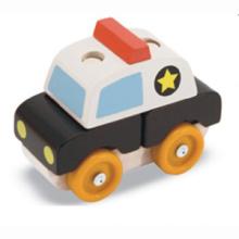 Juguetes de madera de apilamiento de vehículos (80933)