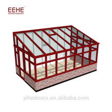 China Factory Curved Glass Polycarbonate Sunrooms
