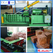 China manufacture CE approved automatic scrap metal baler