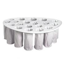 Sacs filtrants pour sécheur à lit fluidisé