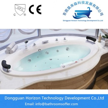 Luxury flushbonading soaking bathtub