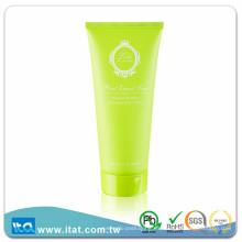 Eco amigable LDPE OEM flexible tubo cosmético para la crema facial de la fundación