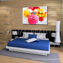 Colorful Ice Cream Canvas Picture Children