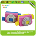 Roze Camera briefpapier Eraser, custome leuke gum