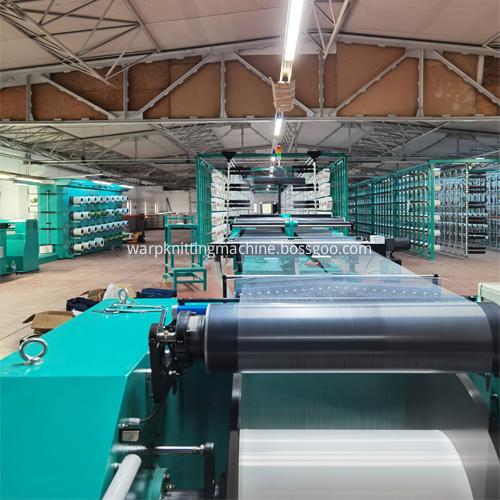 Warping Machine In Workshop