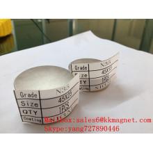 неодимовый Магнит для счетчиков воды: Нева, Метрон, Геррида (до 2008 года: D45X15mm d45X15mm