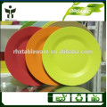 9inch middle round plate eco biodegradable dinner plate