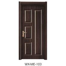 Niedriger Preis Ausgezeichnete Qualität Hotsale Melamin-Tür (WX-ME-103)