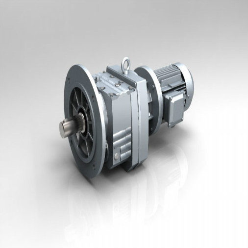 Electric Motor Speed ​​Reducer dengan Poros Output
