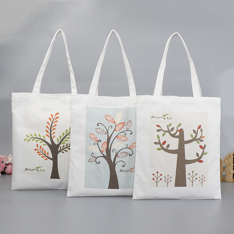 Custom Printed Shopping Canvas Bags