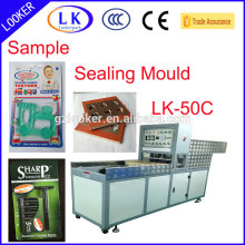 Blister packing machine for medical device