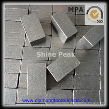 Segmento de broca de diamante para corte de pedra de mármore