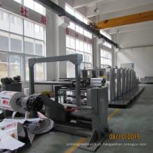 Máquina de impressão Flexo de quatro e seis cores totalmente automática
