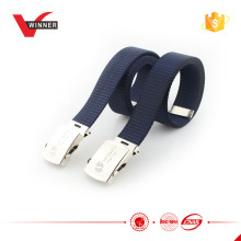 Men's military style fabric belt