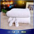 Matelas chauffant à laine en laine synthétique avec quatre réglages de chaleur