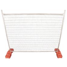 Panneaux de clôture thésaurisation / clôture temporaire galvanisée