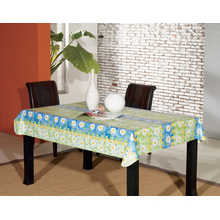 PEVA Tablecloth with Flannel Backing (TJ0062A)
