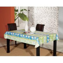 Toalha de mesa PEVA com apoio de flanela (TJ0062A)