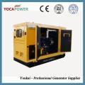 15kVA / 12kw Мобильный звукоизоляционный дизель-генератор с 4-тактным двигателем