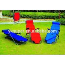 Cadeira reclinável confortável reclinável de luxo, espreguiçadeira