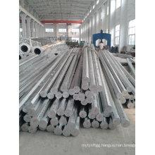 Hot DIP Galvanized Electricity Transmission Steel Poles