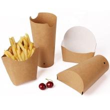 Wholesale Custom Take Away Printing Biodegradable Hot Dog Paper Box Fast Food Tray