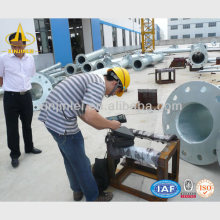 Galvanized Steel Power Transmission Tower for Power Distribution