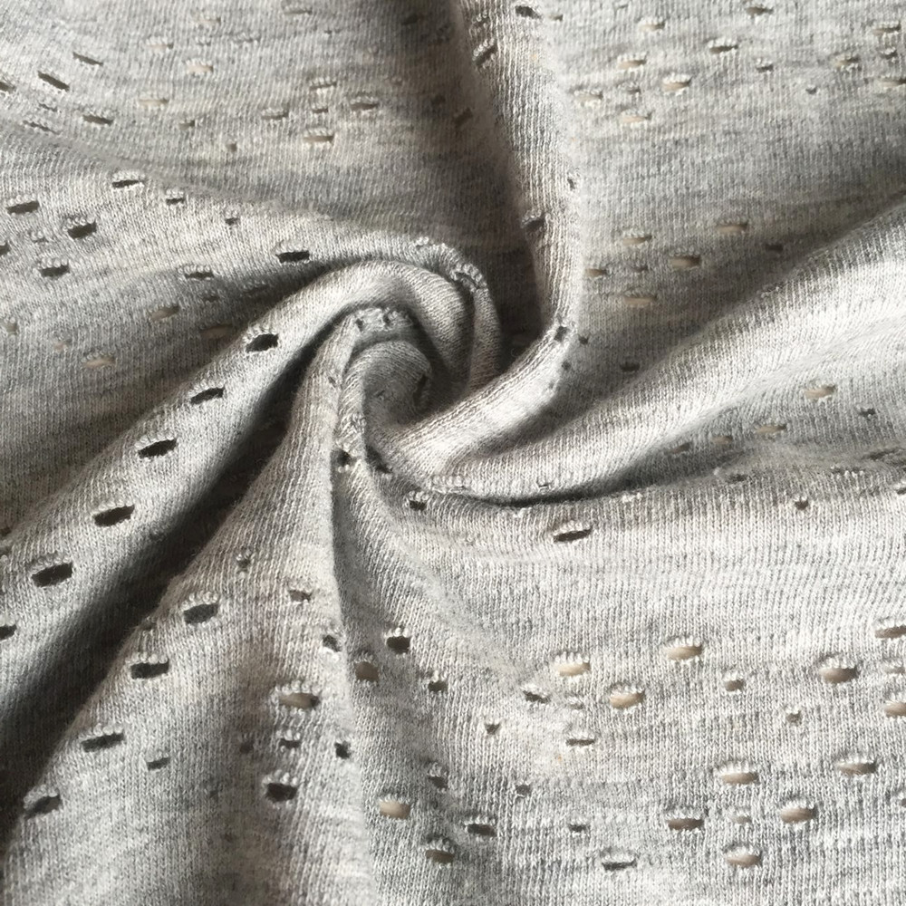 Water solubled fiber fabric Jacquard hole magic fabric