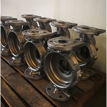 Cast Ductile Iron And Machined Pump Housing