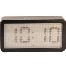 Smooth Round Preocupaciones Desk Digital Desk Clock