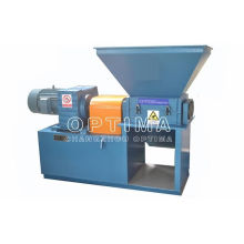 Hard Disk Double Shaft Shredder , Hydraulic Plastic Shredding Machine