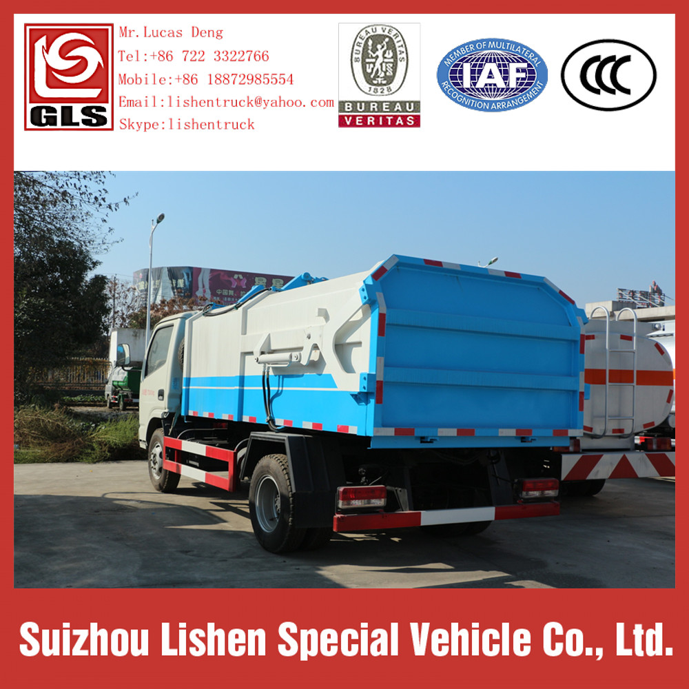 5 M3 Garbage Truck Rubbish Refuse Collector