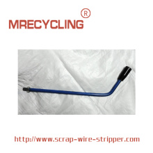 Wire stripping maskin
