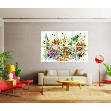 Arte moderna da pintura a óleo da decoração