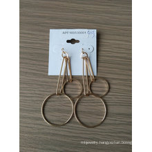Hollow Circle Earrings Fashion Classic for Lady