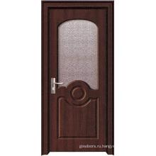 Офисная дверь с стеклом (WX-PW-178)