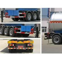 12.7m Thr-axle Liquefied Gas Transport Semi Trailer