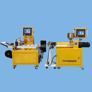 Lab film casting machine / PLC control